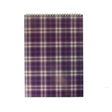 Купить Блокнот на пружине сверху SHOTLANDKA, А4, 48 листов, клетка, фиолетовый оптом и в розницу в магазине Скрепка. Доставка по Виннице и Украине.