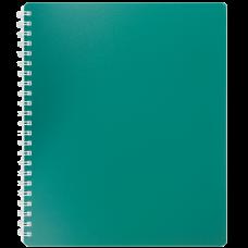 Купить Книжка записная на пружине CLASSIC, В5, 80 листов, клетка, зеленый оптом и в розницу в магазине Скрепка. Доставка по Виннице и Украине.