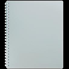 Купить Книжка записная на пружтне CLASSIC, В5, 80 листов, клетка, серый оптом и в розницу в магазине Скрепка. Доставка по Виннице и Украине.