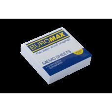 Купить Блок белой бумаги для заметок JOBMAX 80 х80х20мм, склеенный оптом и в розницу в магазине Скрепка. Доставка по Виннице и Украине.
