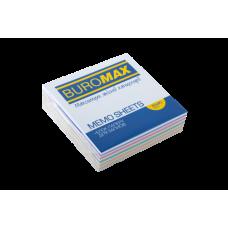 """Купить Блок бумаги для заметок """"Зебра"""" JOBMAX 80х80х20мм, не склеенный оптом и в розницу в магазине Скрепка. Доставка по Виннице и Украине."""