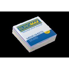 """Купить Блок бумаги для заметок """"Зебра"""" JOBMAX 80х80х20мм, склеенный оптом и в розницу в магазине Скрепка. Доставка по Виннице и Украине."""