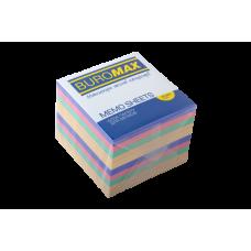Купить Блок бумаги ДЕКОР 90х90х70мм, не склеенный оптом и в розницу в магазине Скрепка. Доставка по Виннице и Украине.