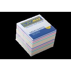 Купить Блок бумаги ЗЕБРА 90х90х70мм, не склеенный оптом и в розницу в магазине Скрепка. Доставка по Виннице и Украине.