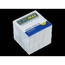 Купить Блок белой бумаги для заметок 90х90х90мм, не склеенный оптом и в розницу в магазине Скрепка. Доставка по Виннице и Украине.