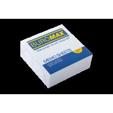 Купить Блок белой бумаги для заметок 80х80х30мм, не склеенный оптом и в розницу в магазине Скрепка. Доставка по Виннице и Украине.