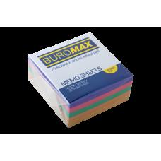 Купить Блок бумаги ДЕКОР 90х90х40мм, склеенный оптом и в розницу в магазине Скрепка. Доставка по Виннице и Украине.
