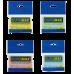 Купить Блок бумаги для заметок 51 x 76мм, 100 листов, ассорти оптом и в розницу в магазине Скрепка. Доставка по Виннице и Украине.