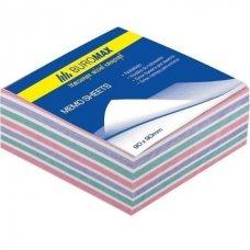 Купить Блок бумаги ЗЕБРА 90х90х40мм., не склеенный оптом и в розницу в магазине Скрепка. Доставка по Виннице и Украине.