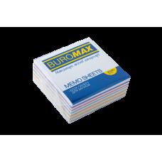 Купить Блок бумаги ЗЕБРА 80х80х30мм, не склеенный оптом и в розницу в магазине Скрепка. Доставка по Виннице и Украине.