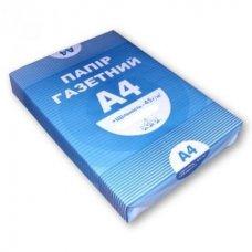 Купить Бумага газетная А4, 100 листов оптом и в розницу в магазине Скрепка. Доставка по Виннице и Украине.