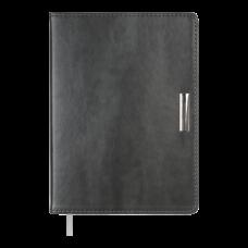 Купить Ежедневник недатированный SALERNO, A5, серый оптом и в розницу в магазине Скрепка. Доставка по Виннице и Украине.