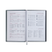 Купить Ежедневник недатированный QUATTRO, A6, красный + черный оптом и в розницу в магазине Скрепка. Доставка по Виннице и Украине.