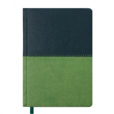 Купить Ежедневник недатированный QUATTRO, A6, темно-зеленый+светло-зеленый оптом и в розницу в магазине Скрепка. Доставка по Виннице и Украине.