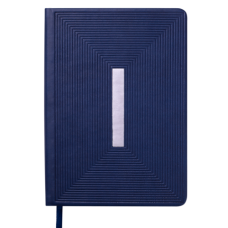 Купить Ежедневник недатированный MEANDER, A5, синий оптом и в розницу в магазине Скрепка. Доставка по Виннице и Украине.