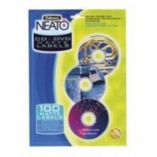 Купить Матовые этикетки c вкладышами NEATO для CD/DVD дисков, 20 шт/комплект оптом и в розницу в магазине Скрепка. Доставка по Виннице и Украине.