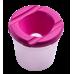 Купить Стакан-непроливайка, розовая оптом и в розницу в магазине Скрепка. Доставка по Виннице и Украине.