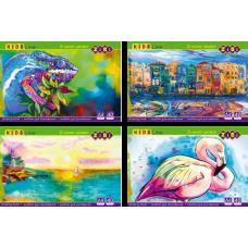 Купить Альбом для рисования клееный, 40 листов оптом и в розницу в магазине Скрепка. Доставка по Виннице и Украине.