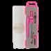 Купить Готовальня BASIS 4 предмета, розовый оптом и в розницу в магазине Скрепка. Доставка по Виннице и Украине.