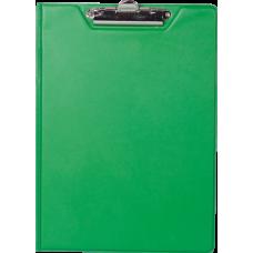 Купить Клипборд-папка BUROMAX, А4, PVC, зеленый оптом и в розницу в магазине Скрепка. Доставка по Виннице и Украине.