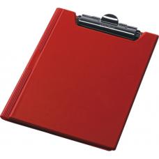 Купить Клипборд-папка Panta Plast, А4, PVC, красный оптом и в розницу в магазине Скрепка. Доставка по Виннице и Украине.
