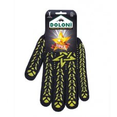 Купить Перчатки трикотажные рабочие ДОЛОНИ, 520, белые с точкой оптом и в розницу в магазине Скрепка. Доставка по Виннице и Украине.