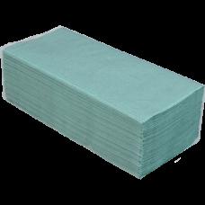 Купить Полотенца макулатурные V-образные, 160 шт, зеленые оптом и в розницу в магазине Скрепка. Доставка по Виннице и Украине.