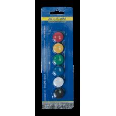 Комплект магнітів, 20 мм, по 6 шт. в упаковці (BM.0030-62)