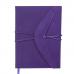 Щоденник датов. 2021 BELLA, А5, фіолетовий, штучна шкіра/поролон (BM.2132-07)