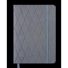 Щоденник датов. 2021 CASTELLO, А5, сірий, штучна шкіра (BM.2152-09)
