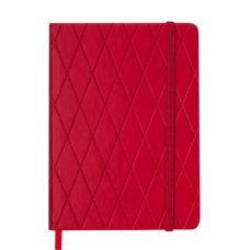 Щоденник датов. 2021 CASTELLO, А5, червоний, штучна шкіра (BM.2152-05)