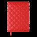 Щоденник датов. 2021 DONNA LINE, A5, червоний, штучна шкіра (BM.2138-05)