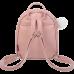 Рюкзак FUR RABBIT, 24x21x8 см, персиковий (декор: шт.хутро) (ZB.702301)