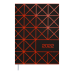 Щоденник датов. 2021 LINEA, А5, помаранчевий (BM.2151-11)