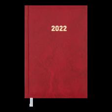 Щоденник датов. 2021 BASE(Miradur), L2U, A6, червоний, бумвініл/поролон (BM.2514-05)