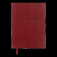 Щоденник датов. 2021 IDEAL, A5, червоний, штучна шкіра (BM.2175-05)