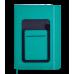 Щоденник датов. 2021 COMBI, L2U, A5, зелений, штучна шкіра/поролон (BM.2191-04)