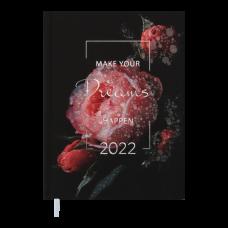 Щоденник датов. 2021 MAGIC, A5, червоний (BM.2159-05)