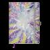 Щоденник датов. 2021 CHERIE, A5, фіолетовий, штучна шкіра (BM.2182-07)