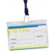Купить Идентификатор горизонтальный, 110х80мм, шнурк оптом и в розницу в магазине Скрепка. Доставка по Виннице и Украине.